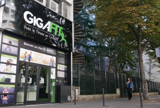 Franchise GigaFit club de fitness