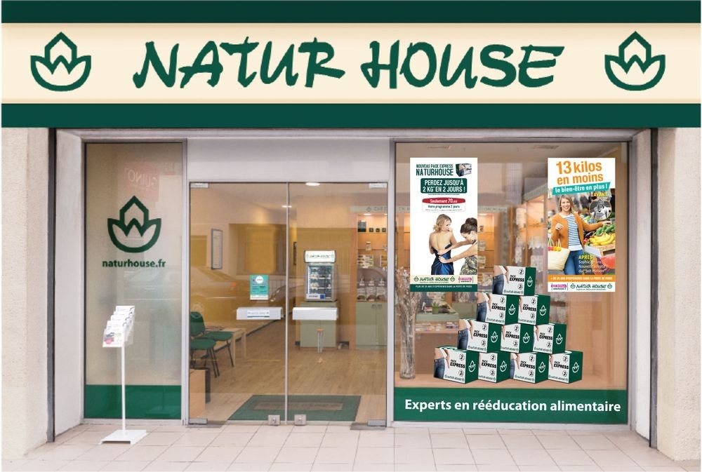 façade boutique naturehouse